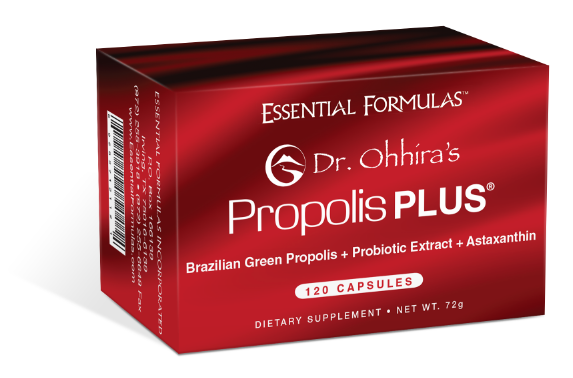 Brazilian Green Propolis + Probiotic Extract + Astaxanthin Dietary Supplement