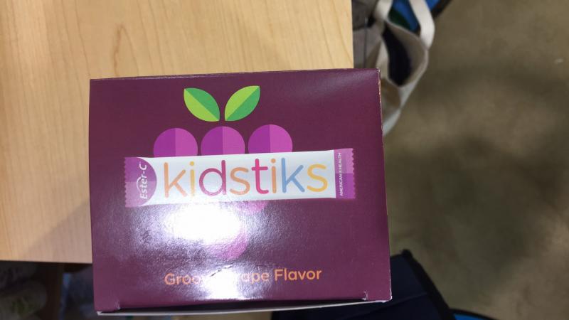 Kid Stiks Multivitamin & Mineral Daily Drink Mix Powder Supplement