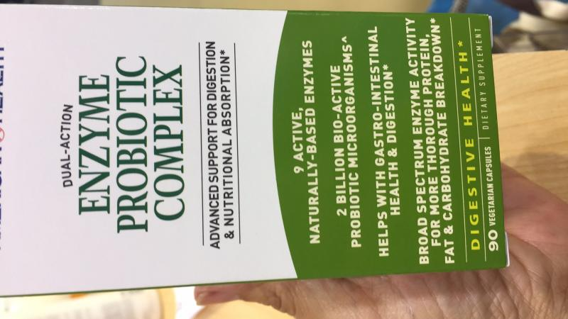 Enzyme Probiotic Complex Dietary Supplement