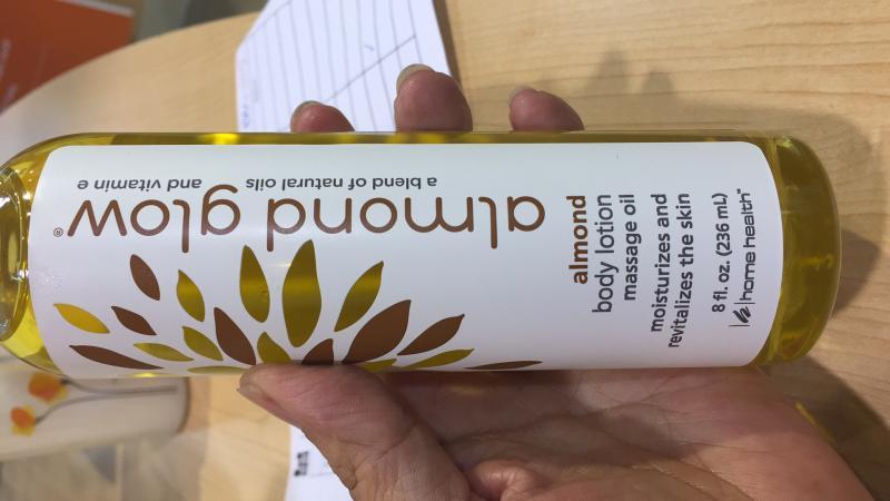 Almond Body Lotion Massage Oil