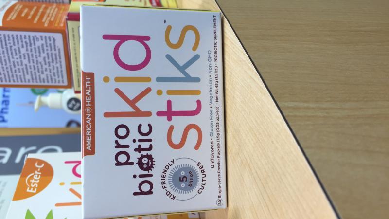 Probiotic Kidstiks Unflavored Probiotic Supplement