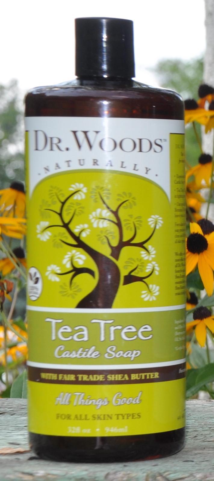 Tea Tree Castile Soap With Fair Trade Shea Butter | The