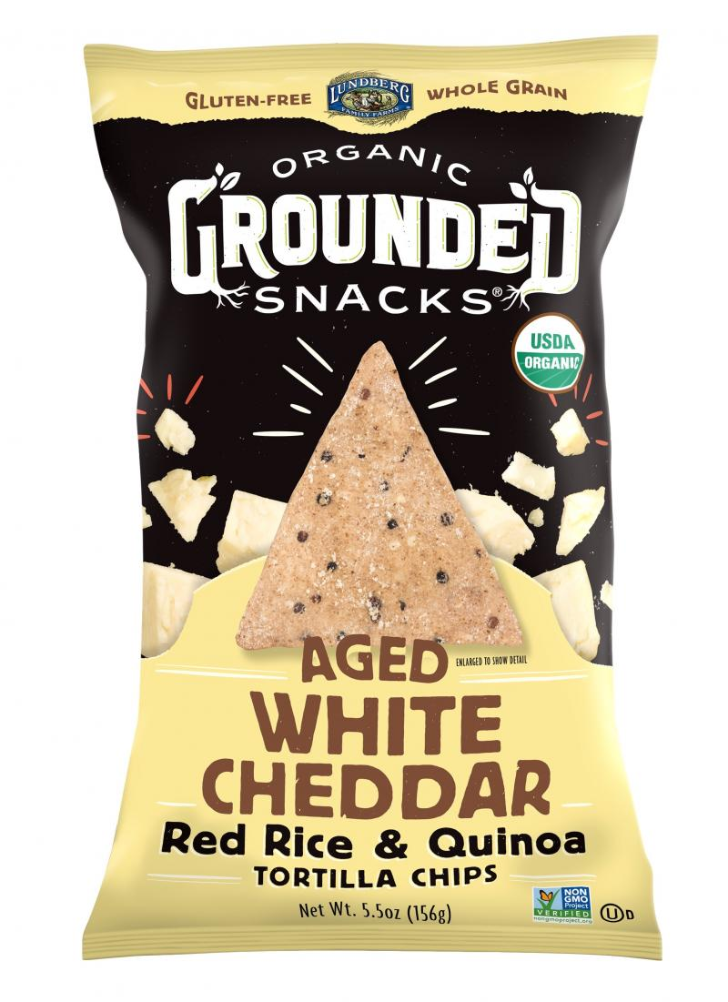 Red Rice & Quinoa Chips – Aged White Cheddar