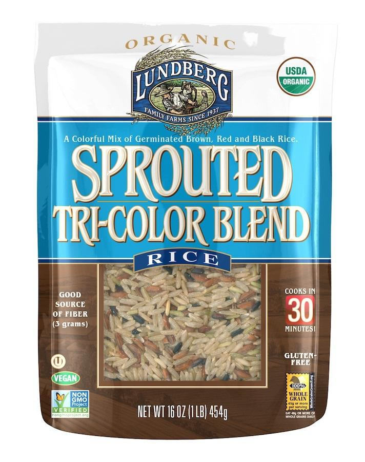 Sprouted Tri-color Blend Rice