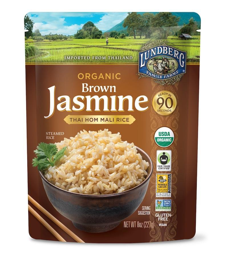 Organic Brown Jasmine Rice