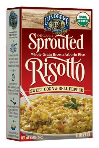Sprouted Risotto Whole Grain Brown Arborio Rice