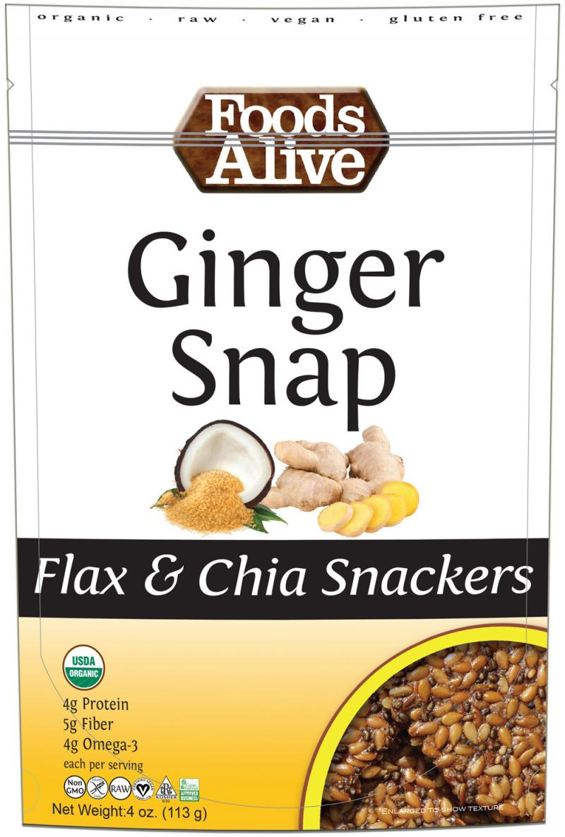 Flax & Chia Snackers