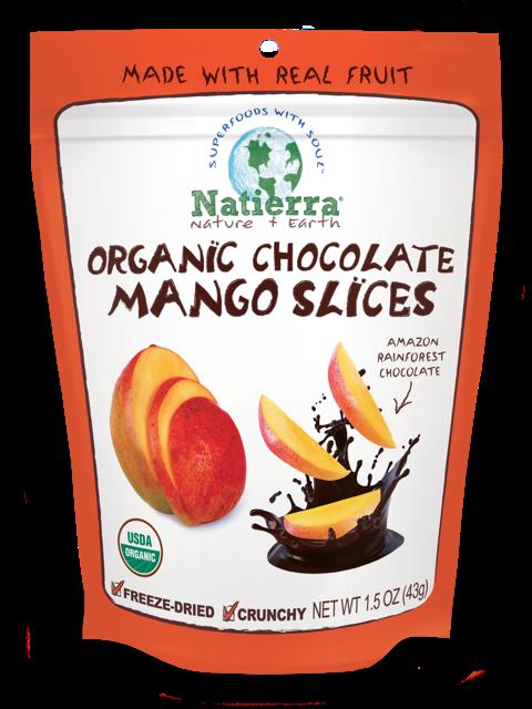 Organic Chocolate Mango Slices