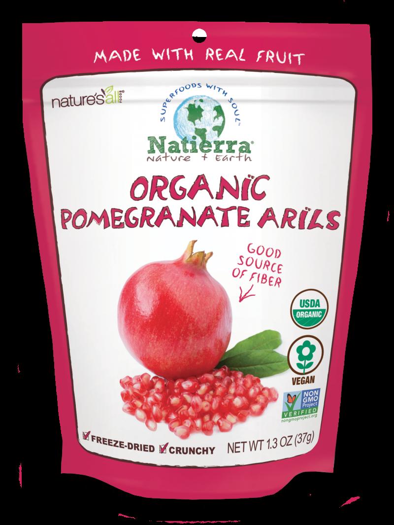 Organic Pomegranate Arils