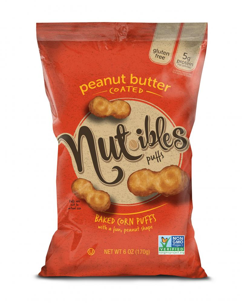 Peanut Butter Coated Puffs