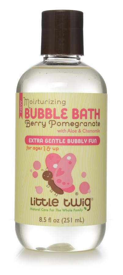 Moisturizing Bubble Bath, Berry Pomegranate With Aloe & Chamomile