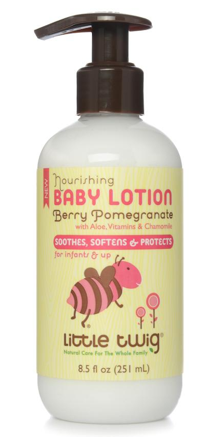 Nourishing Baby Lotion Berry Pomegranate With Aloe, Vitamins & Chamomile