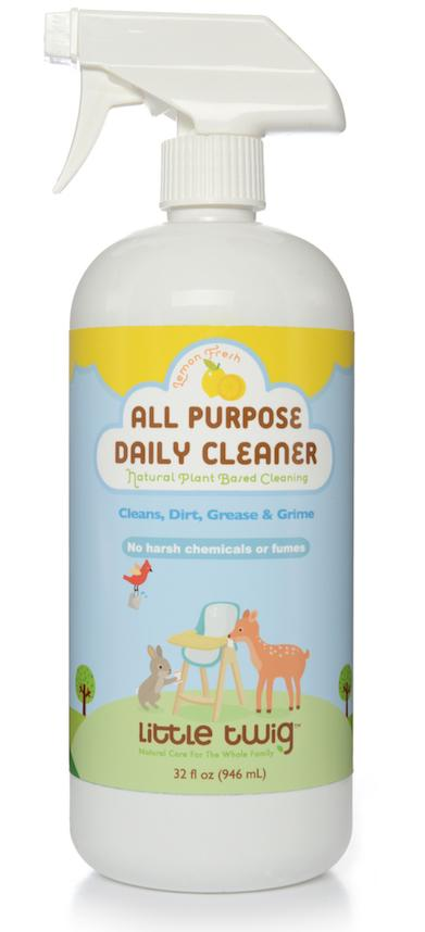 Natural Plant Based Cleaning, Lemon Fresh