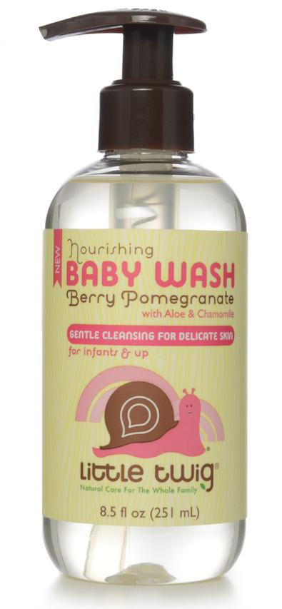 Nourishing Baby Wash, Berry Pomegranate