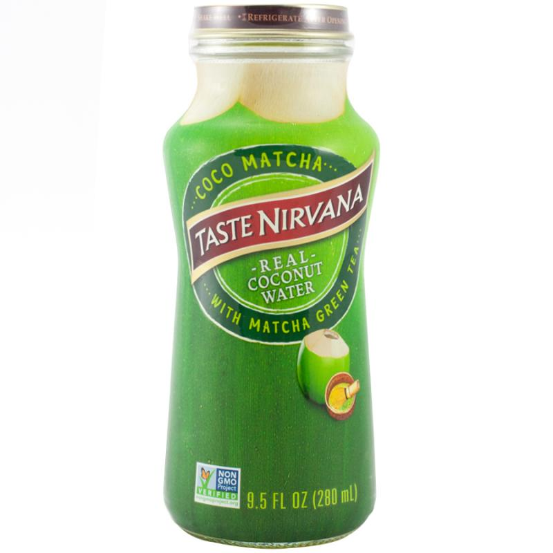 Real Coconut Water With Matcha Green Tea