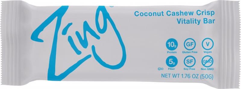 Coconut Cashew Crisp Vitality Bar