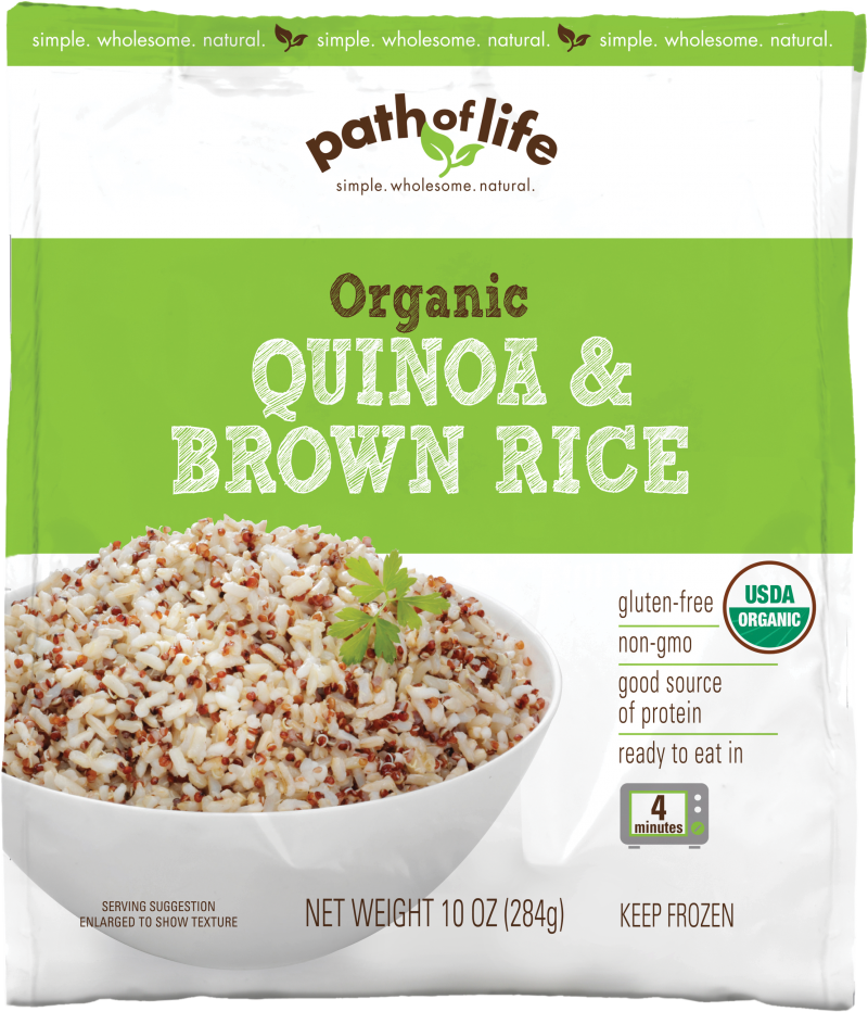Organic Quinoa & Brown Rice