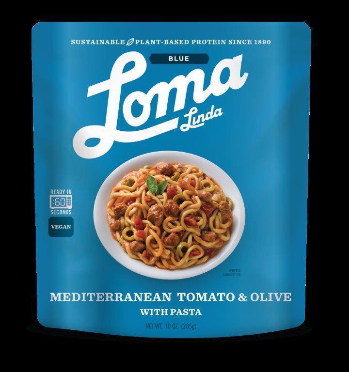 Mediterranean Tomato & Olive With Pasta