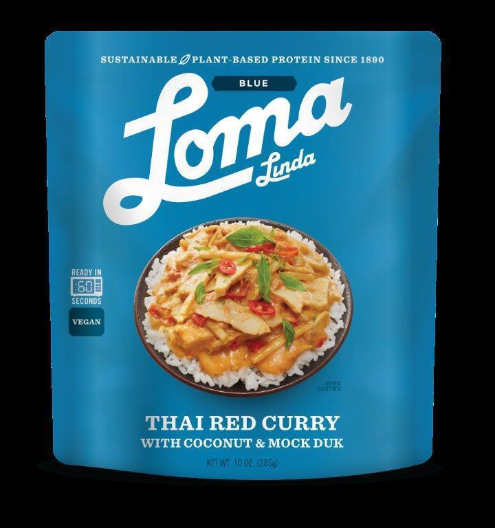 Thai Red Curry With Coconut And Mock Duk