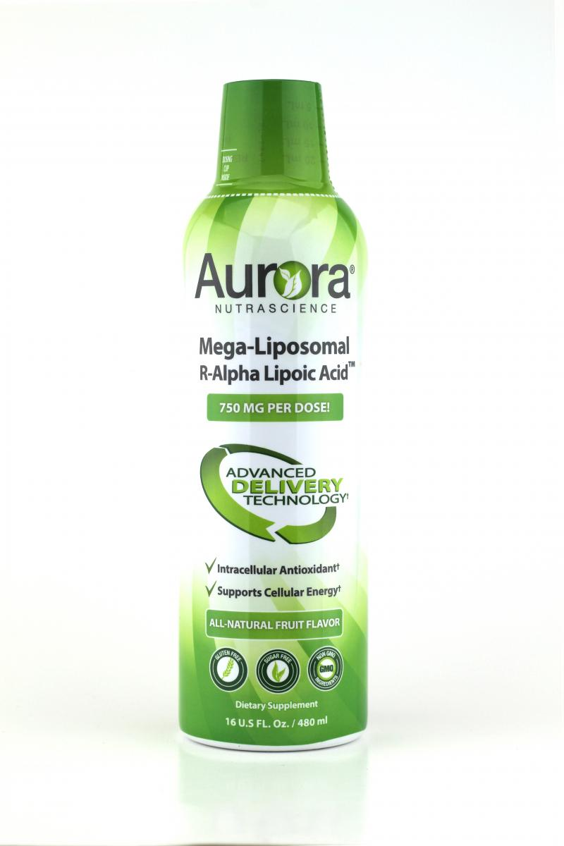 Mega-liposomal R-alpha Lipoic Acid Dietary Supplement