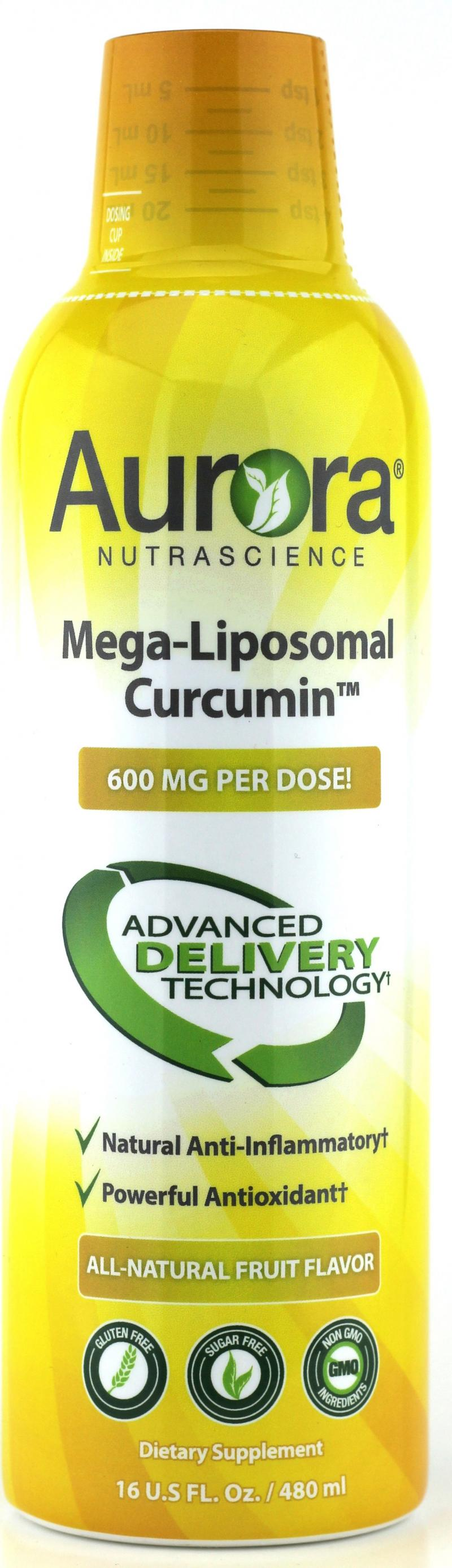 Mega-liposomal Curcumin Dietary Supplement