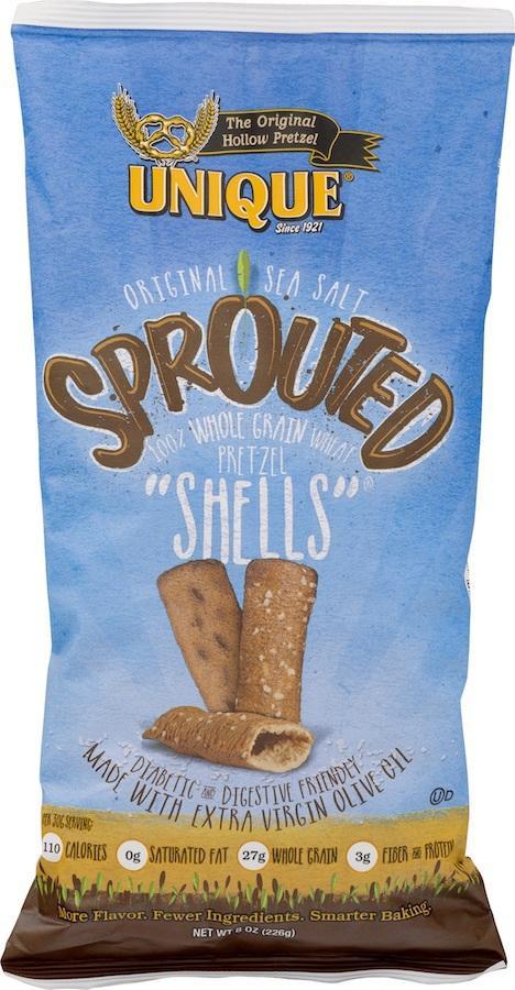"""Pretzel """"shells"""""""