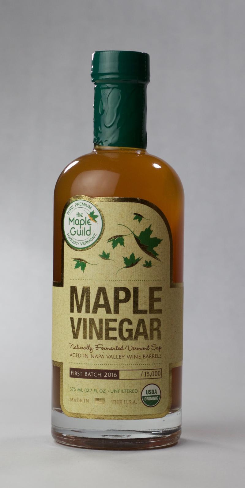 Barrel Aged Maple Vinegar