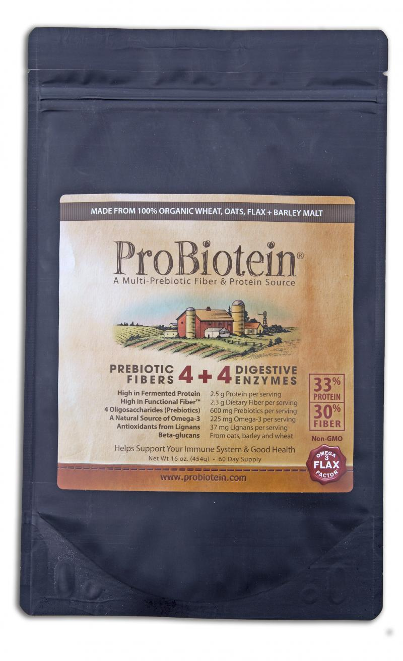 Prebiotic Fibers 4 + 4 Digestive Enzymes