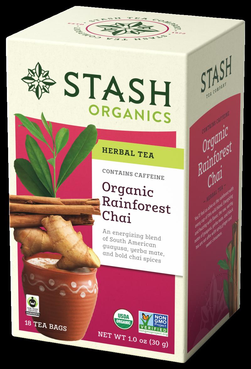 Organic Rainforest Chai Herbal Tea
