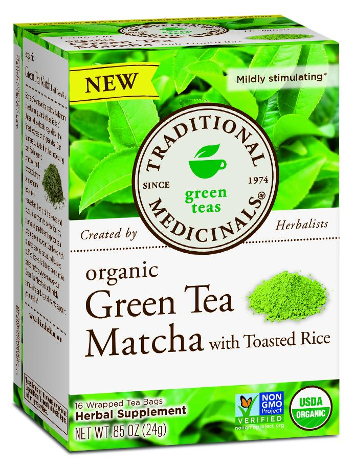 Organic Green Tea Matcha With Toasted Rice Herbal Supplement