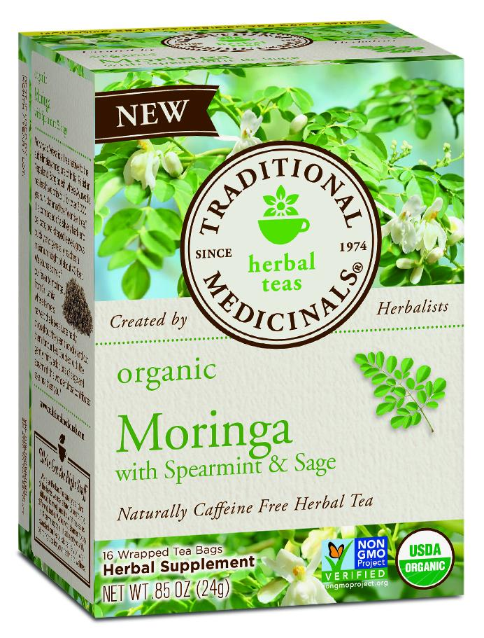 Moringa  With Spearmint & Sage Herbal Supplement