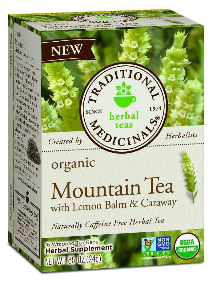 Organic Mountain Tea Herbal Supplement