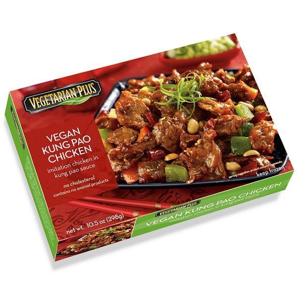 Vegan Kung Pao Chicken