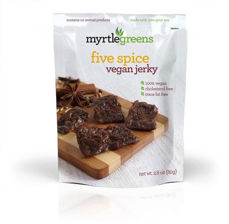 Five Spice Vegan Jerky