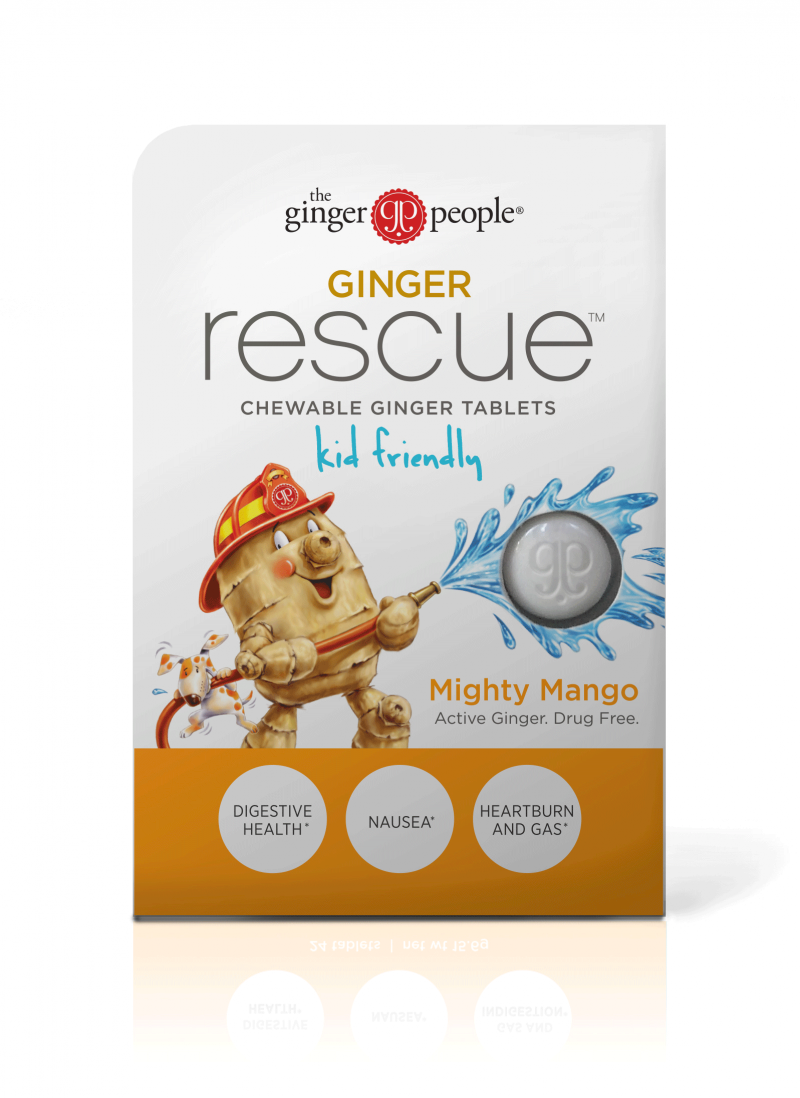 Chewable Ginger Tablets Dietary Supplement