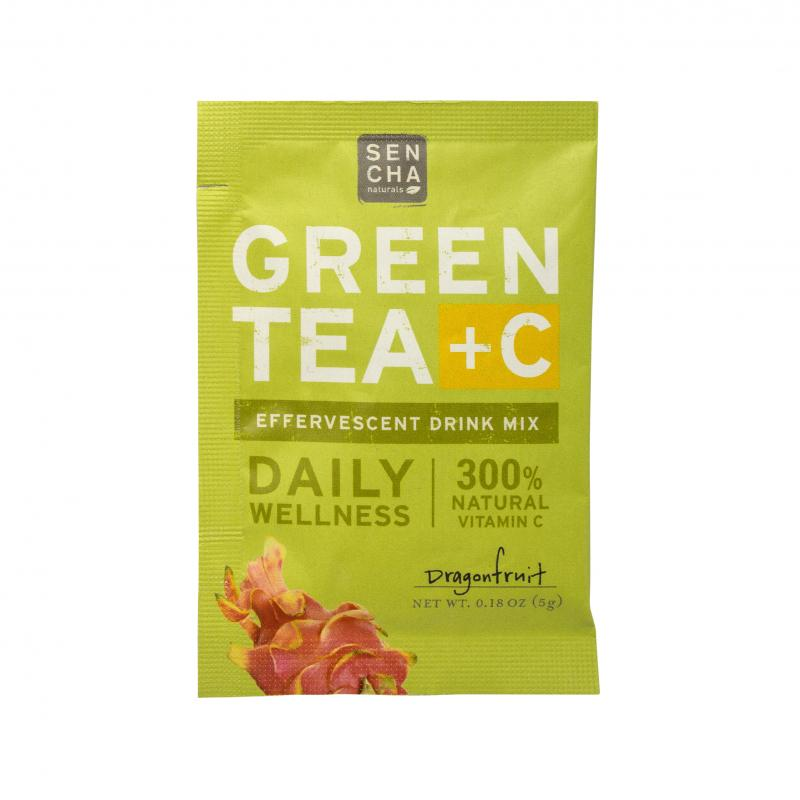 Green Tea +c Effervescent Drink Mix