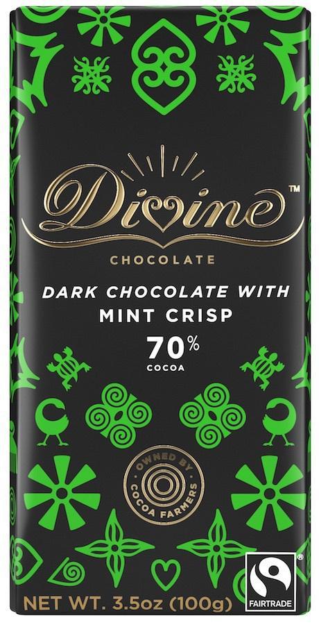 Dark Chocolate With Mint Crisp