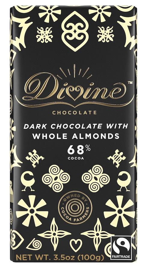 Dark Chocolate With Whole Almonds