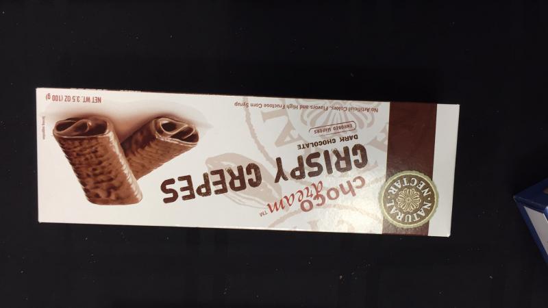 Crispy Crepes Dark Chocolate