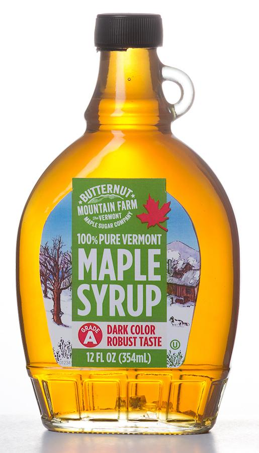 100% Pure Vermont Syrup