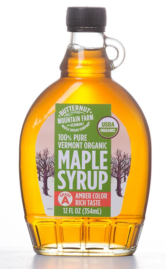 100% Pure Vermont Organic Maple Syrup