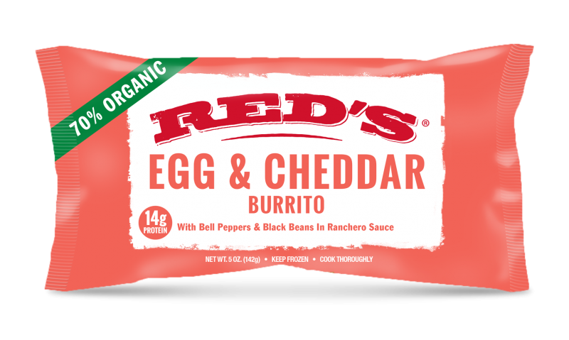 Egg & Cheddar Burrito