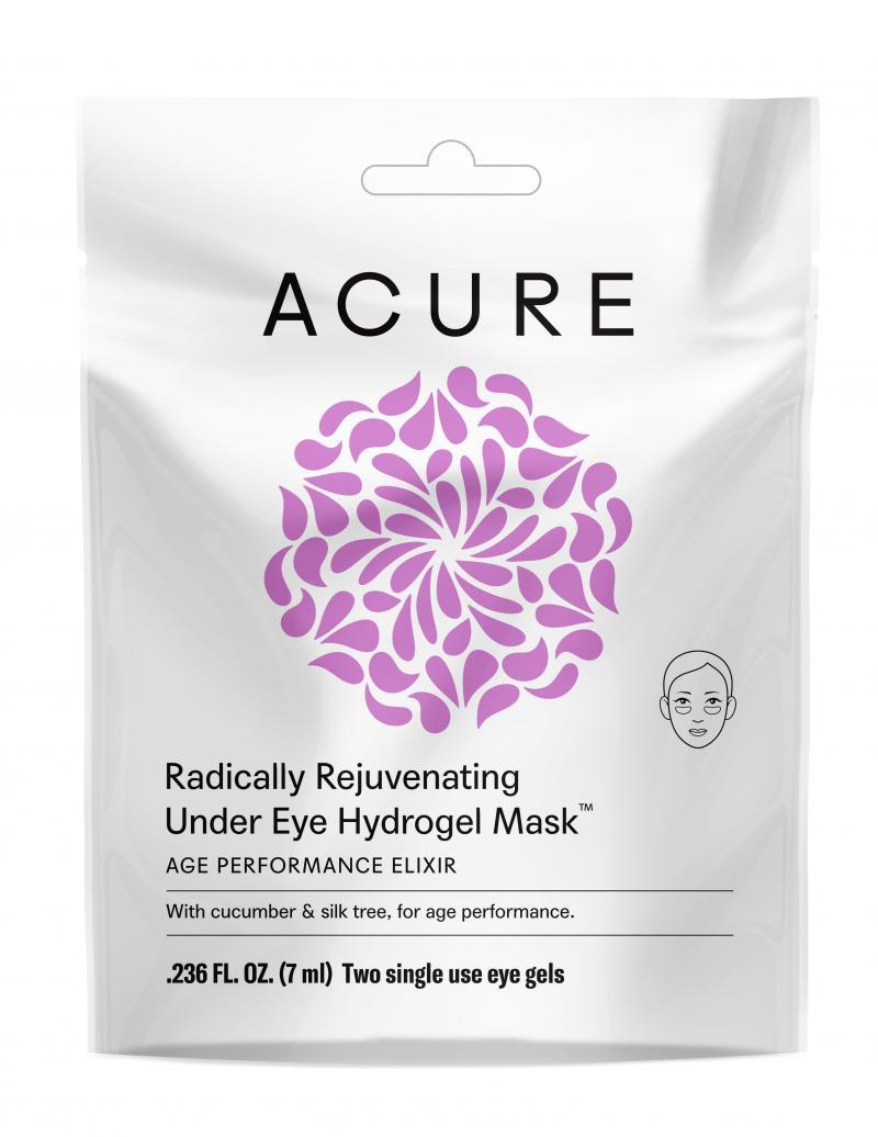 Radically Rejuvenating Under Eye Hydrogel Mask With Cucumber & Silk Tree, For Age Performance.