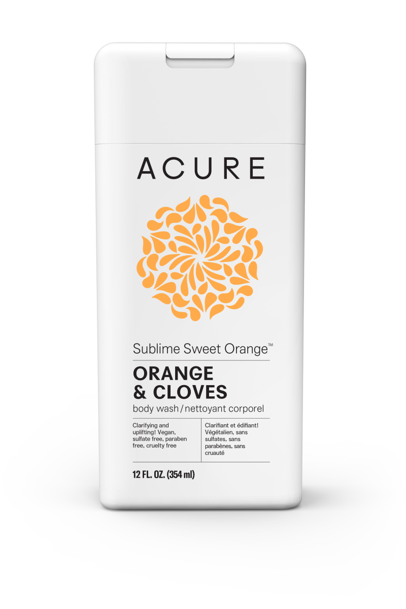 Sublime Sweet Orange Orange & Cloves Body Wash