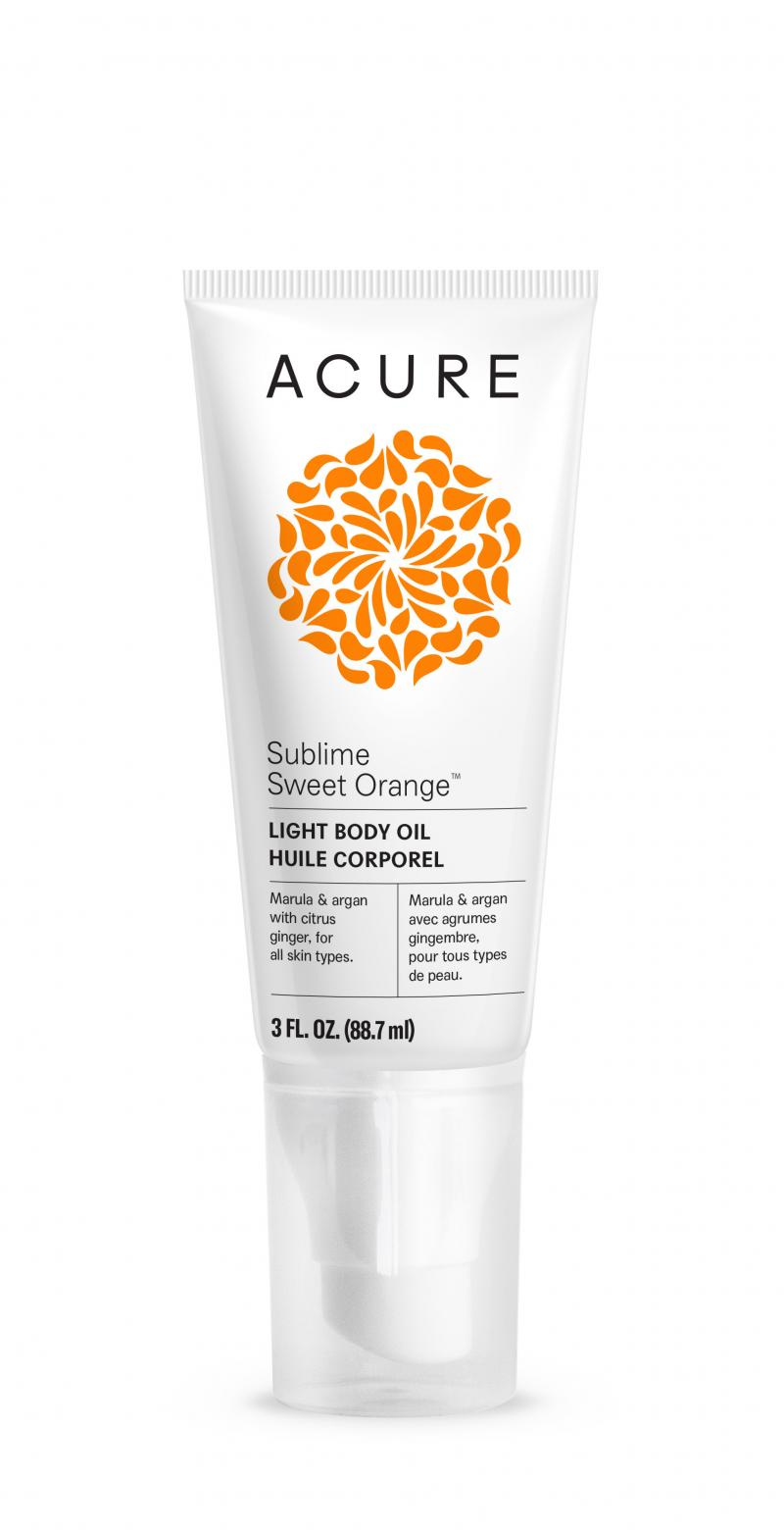 Light Body Oil, Sublime Sweet Orange