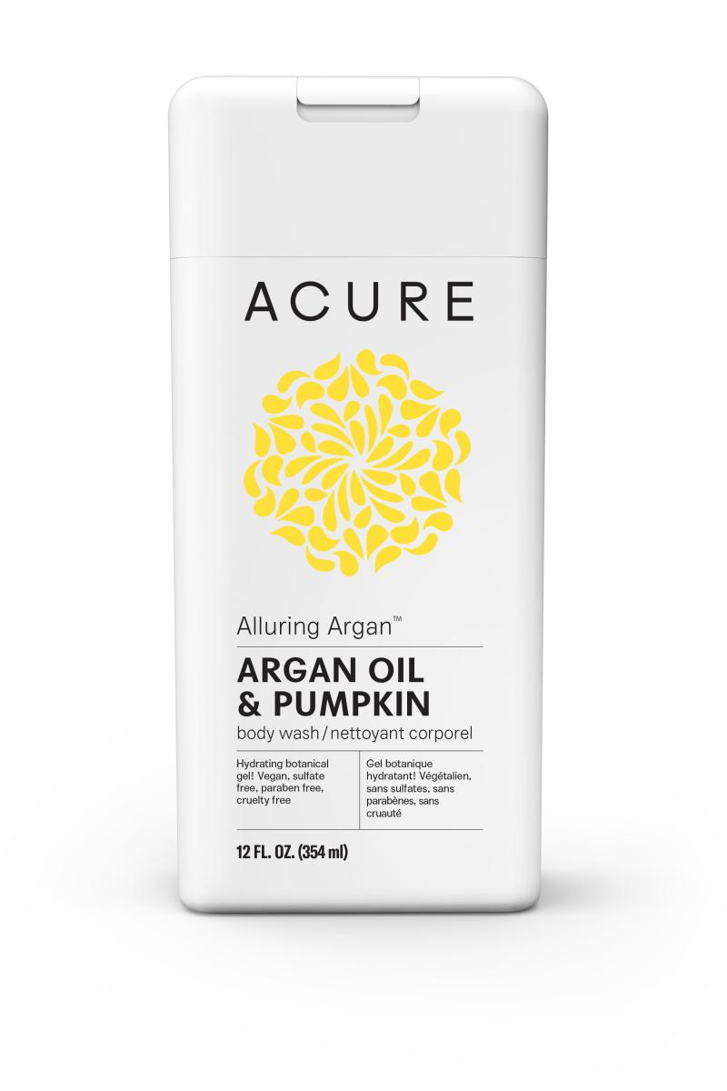 Body Wash, Argan Oil & Pumpkin