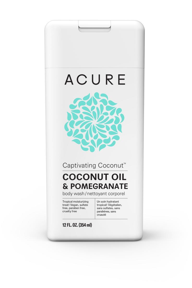 Coconut Oil & Pomegranate Body Wash