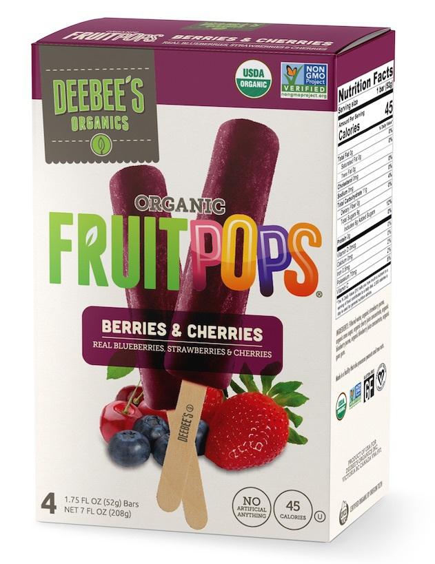 Organic Fruit Pops
