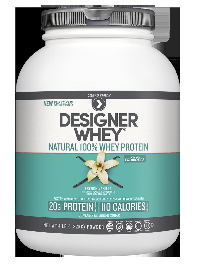 Natural 100% Whey Protein Powder