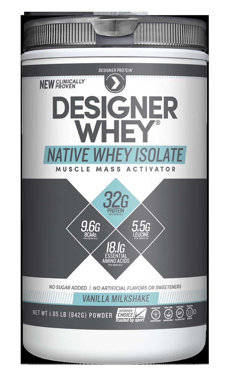 Native Whey Isolate Milkshake